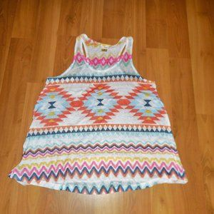Daytrip Aztec Tank Top M